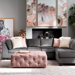 Cheap 2 Piece Living Room Sets Color Paint For Mackenzie Sectional And Ottoman Set Value City Furniture Click To Change Image