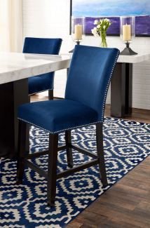 Artemis Counter-height Dining Table And 4 Upholstered