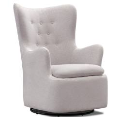 Swivel Chair Value City High Heel Addie Gray Furniture And