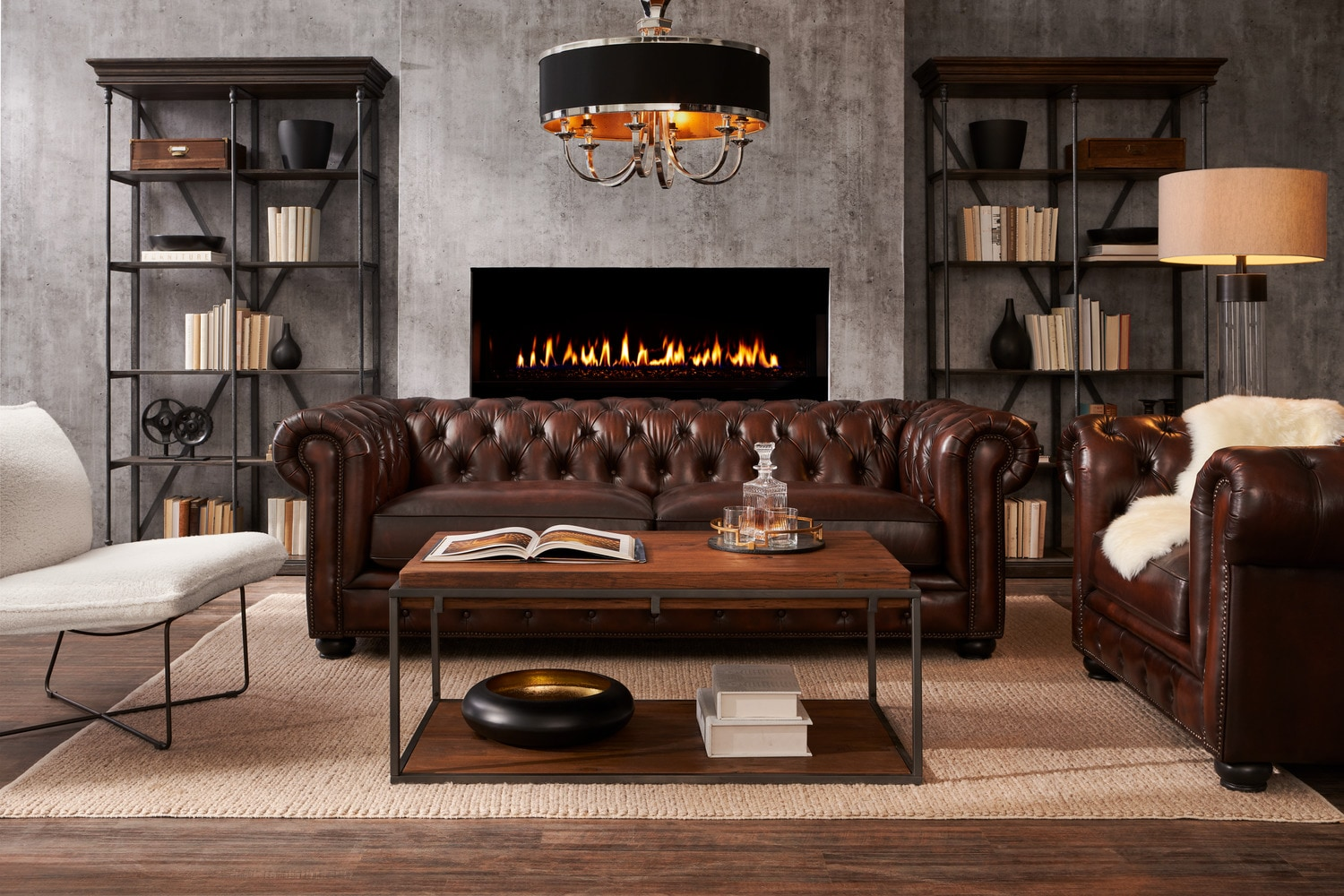 living room ideas with leather chairs decorating walls furniture value city tap to change lexington sofa