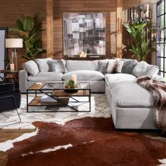 Jive Chenille Living Room Furniture Collection Shelving Unit Ottomans Seating Value City Tap To Change Plush Ottoman