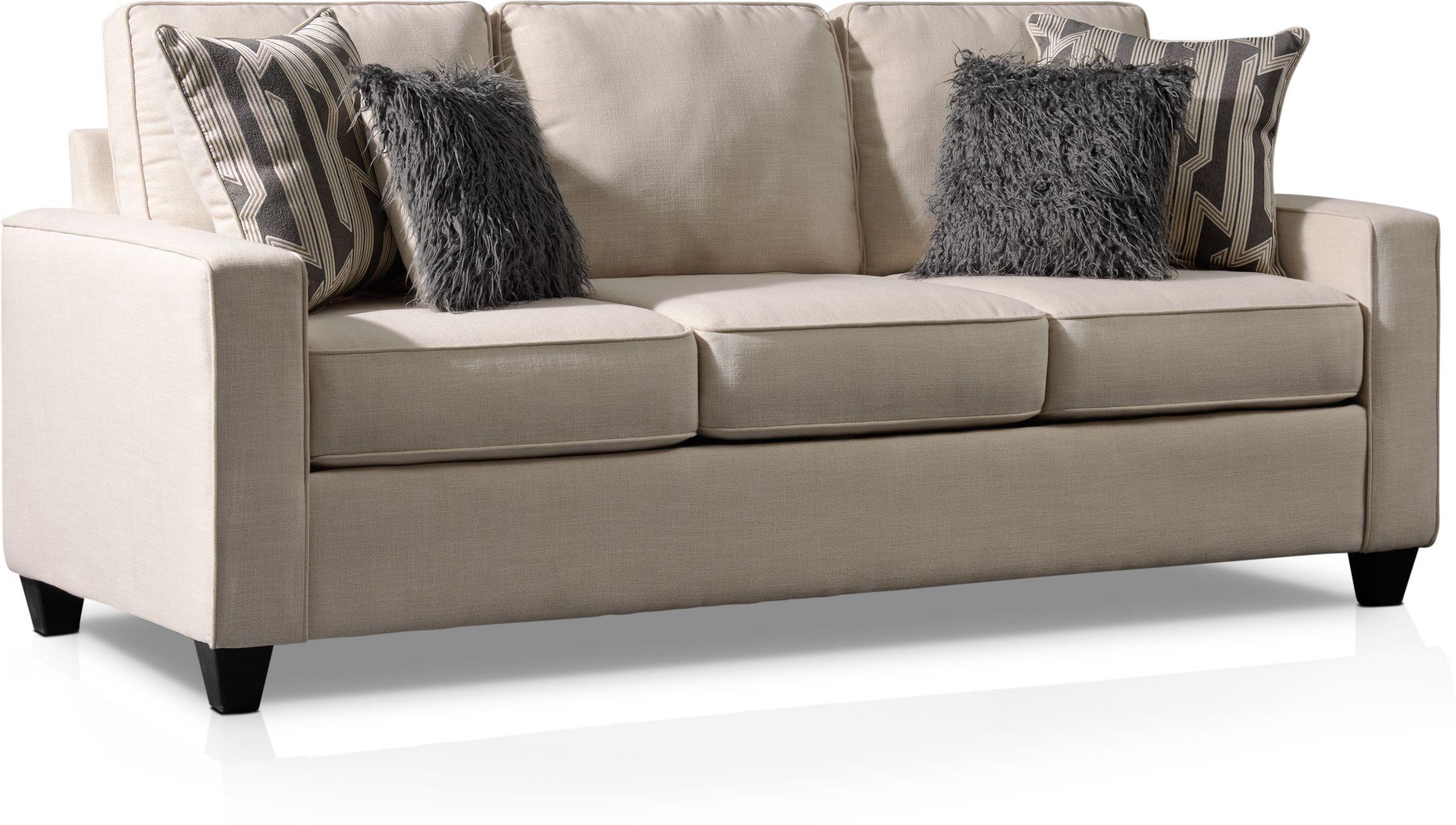 burton queen sleeper sofa value city