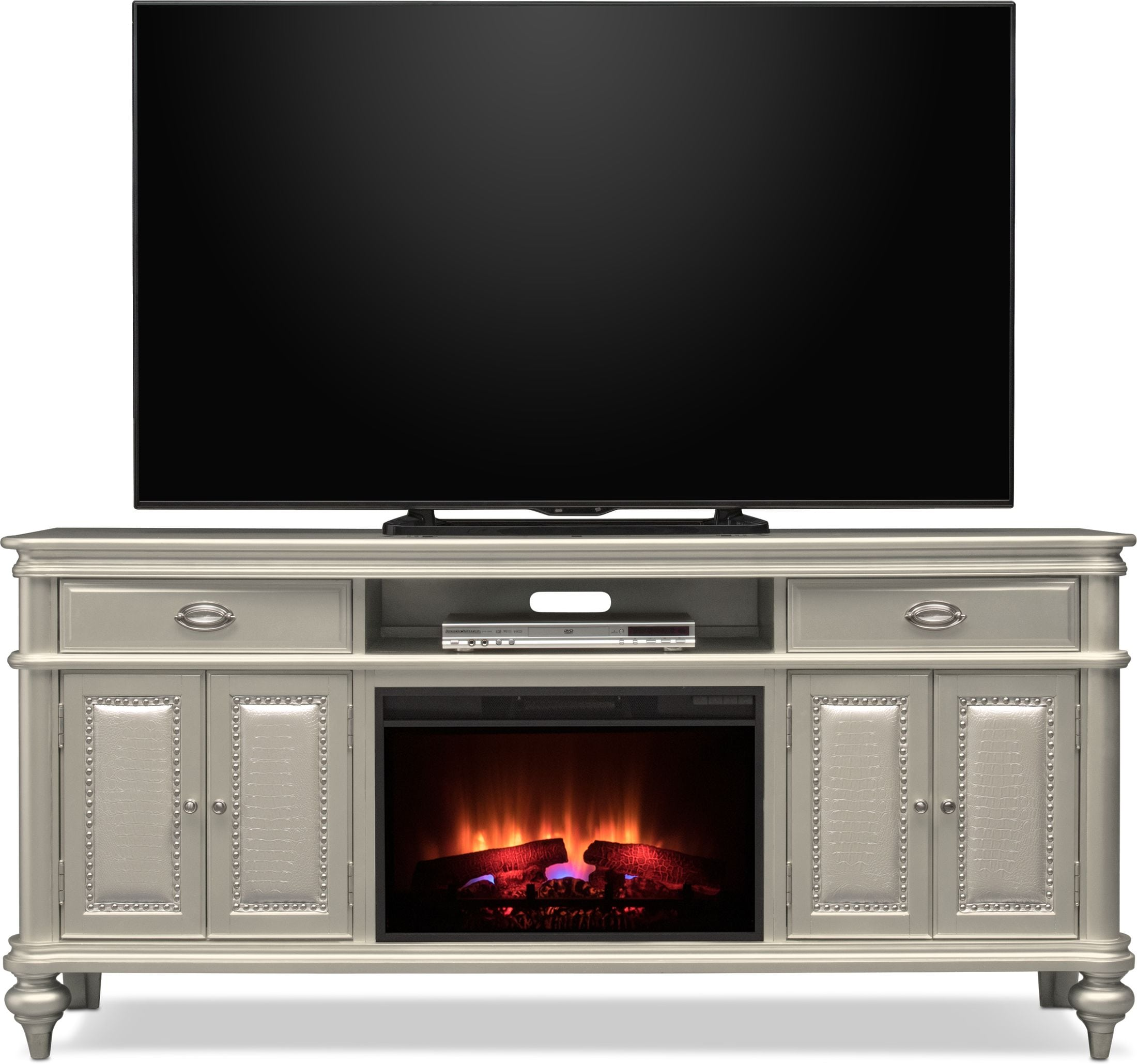 The key to keeping customers is the level of service you provide. Esquire Fireplace TV Stand | Value City Furniture