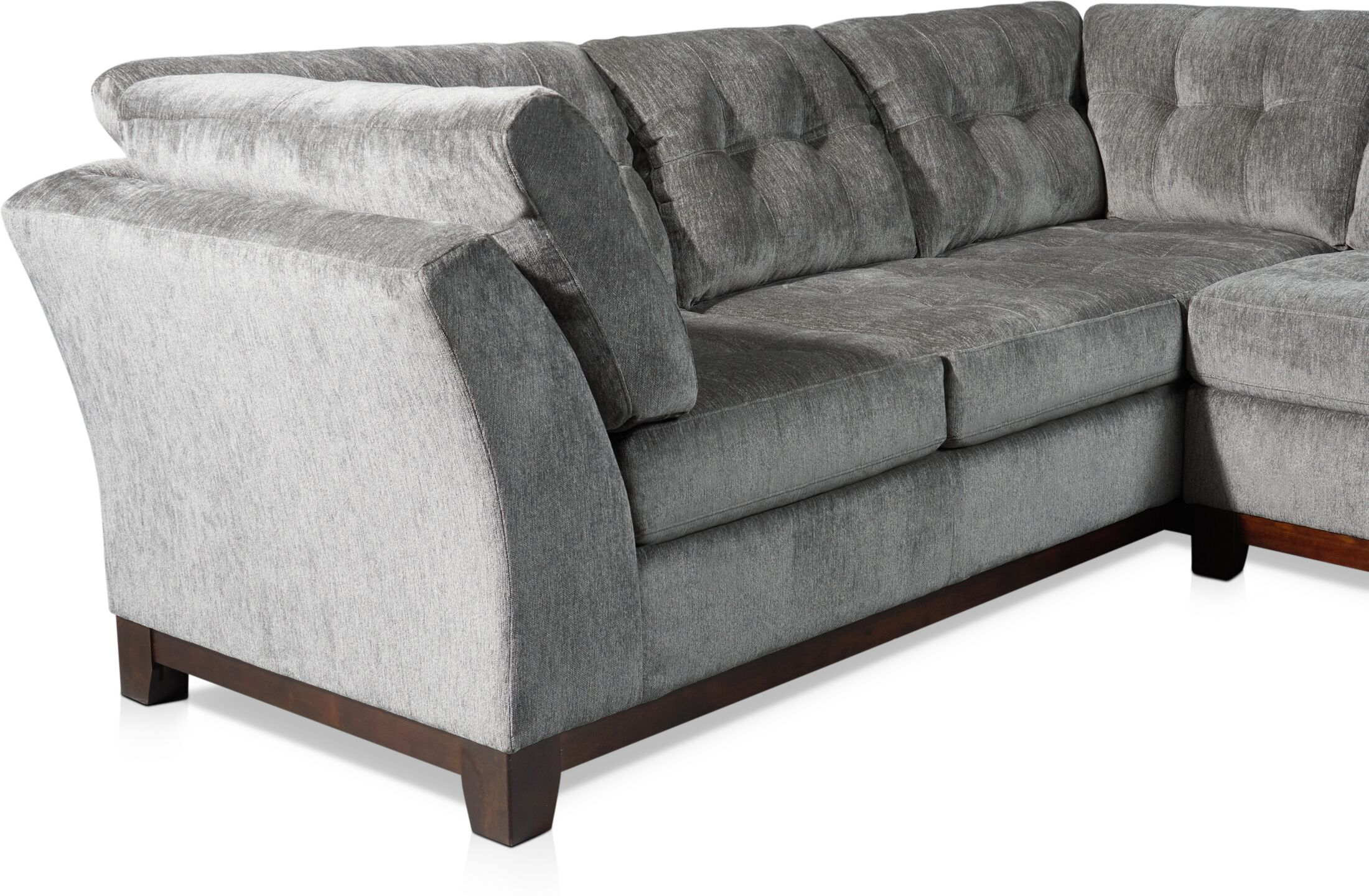 melrose 2 piece small sectional