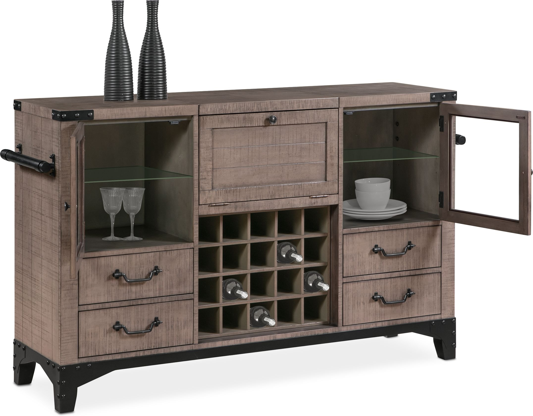 The key to keeping customers is the level of service you provide. Newcastle Sideboard | Value City Furniture