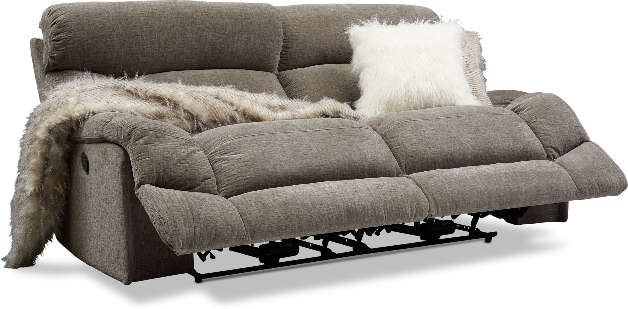Whether you work in a retail shop or a restaurant, a doctor's office or a bank, customer service is one of your most important tasks. Wave Manual Reclining Sofa | Value City Furniture