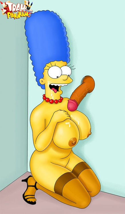 Marge simpson big boobs sexy dominatrix Marge Simpson Big Boobs And Her Sisters Porn