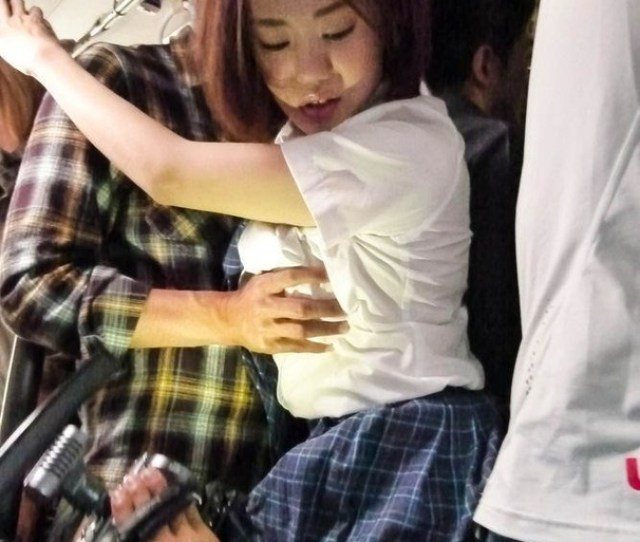 Guys Tackle Cute School Girl In Bus Fingering And Fucking As She Sucks Hard Cock