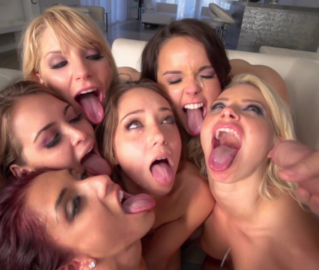 Naughty Sluts Loves Getting Eaten And Fucked In A Reverse Gangbang Xxxonxxx Pic 15