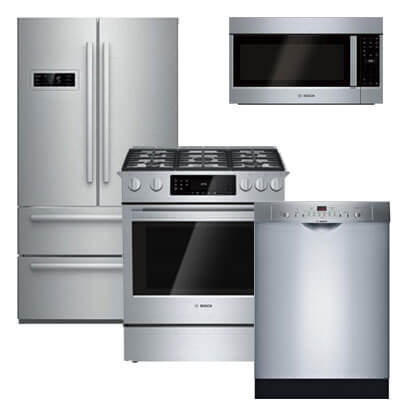 bosch kitchen suite rta cabinets reviews 131421 g 20 7 cu ft 4 door cabinet depth refrigerator packages