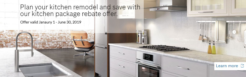 bosch kitchen appliances planner from warners stellian up to 15 rebate on select packages