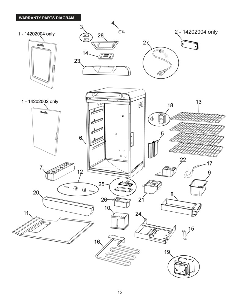 Traeger Parts Texas Schematic