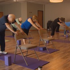 Chair Yoga Videos Hammock And Stand Set Gives Seniors 39 Health A Lift Wfaa