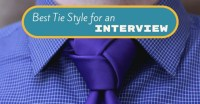 Best Tie Style for an Interview: What Color Tie To Wear ...
