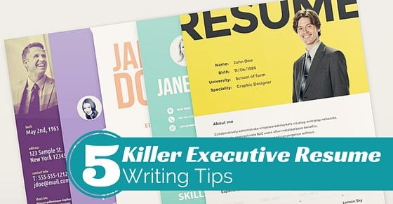 5 Best Killer Executive Resume Writing Tips that Works  WiseStep