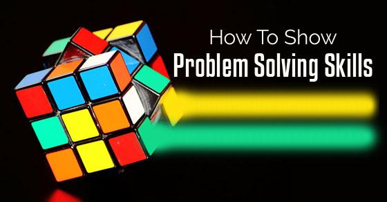 problem solving resumes