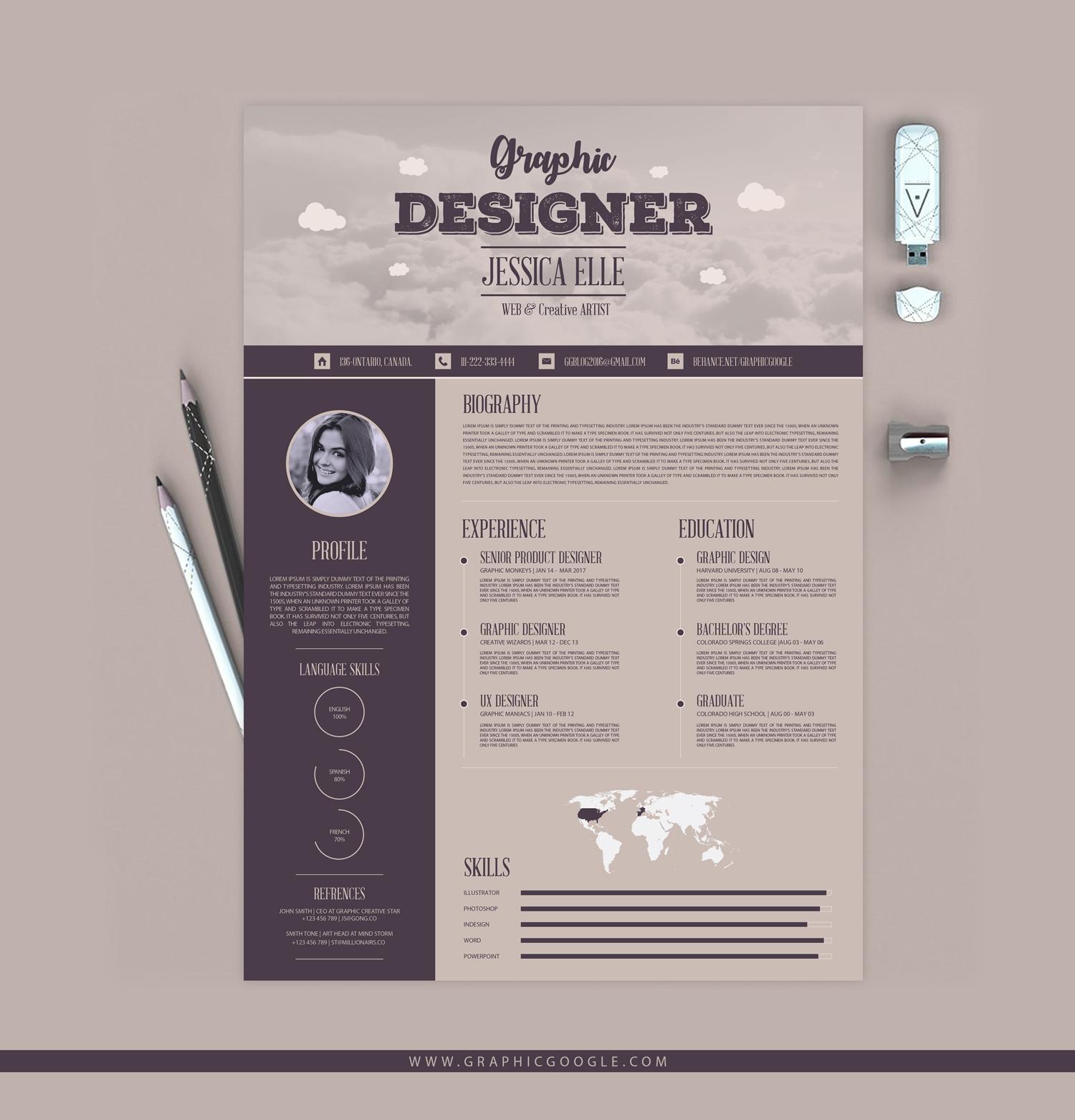 best creative resume templates 2017