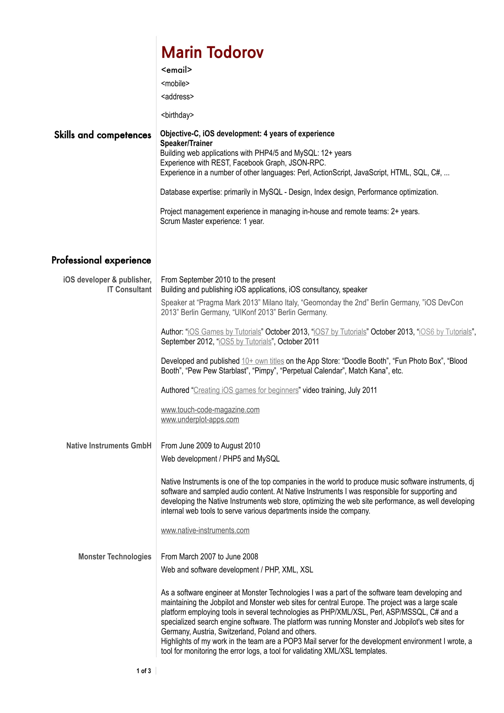 Software Professional Resume Samples 30 Best Developer Software Engineer Resume Templates Wisestep