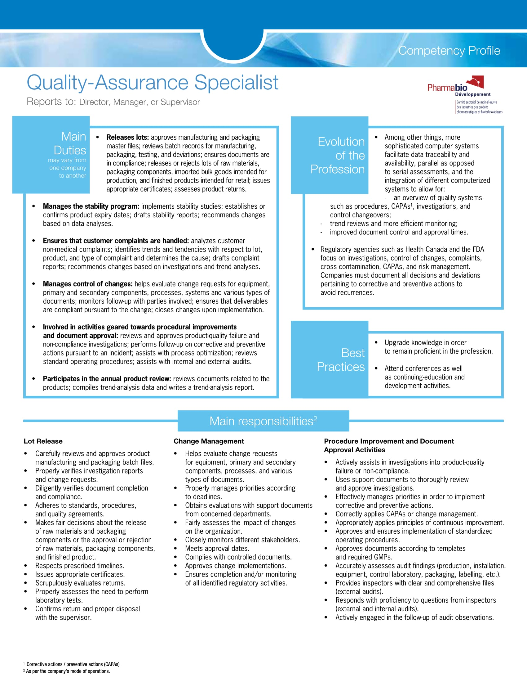 healthcare quality management resume examples