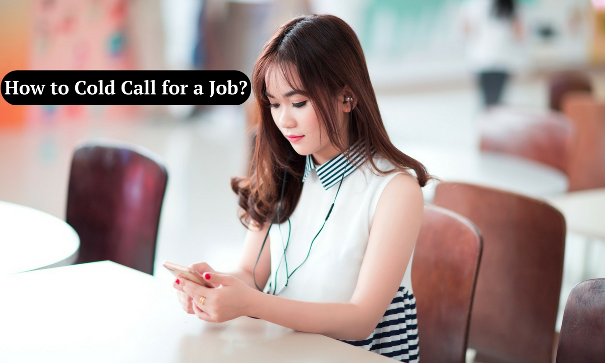 cold calling tips for jobs