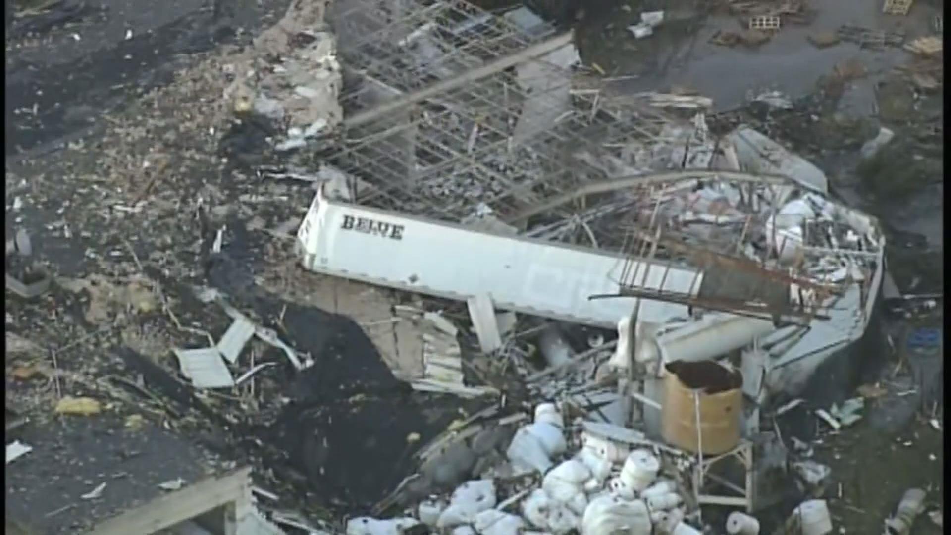 wltxcom  Likely Tornado Causes Widespread Damage in SC