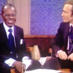 Armstrong One Wire Jobs Power To Light Then Switch Diagram Wwltv On Air Satchmo 39s 1971 Dick Cavett