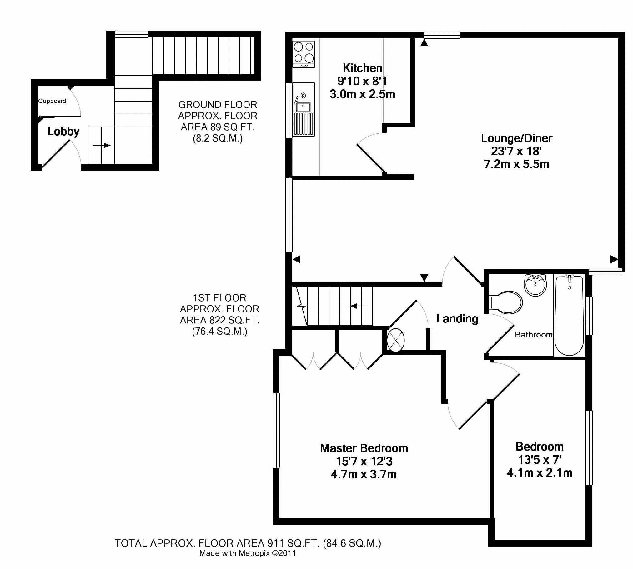 Property details for Flat 11 Holwell Court Holwell