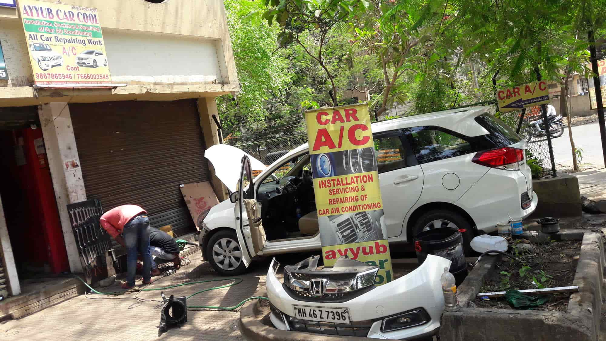 hight resolution of ayyub car cool in thane west mumbai