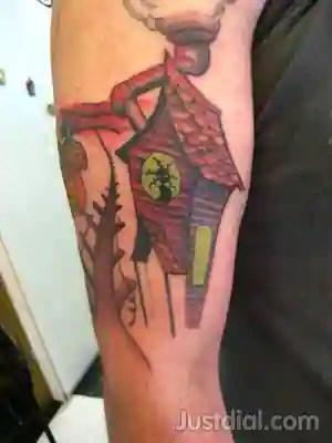 high priestess piercing tattoo