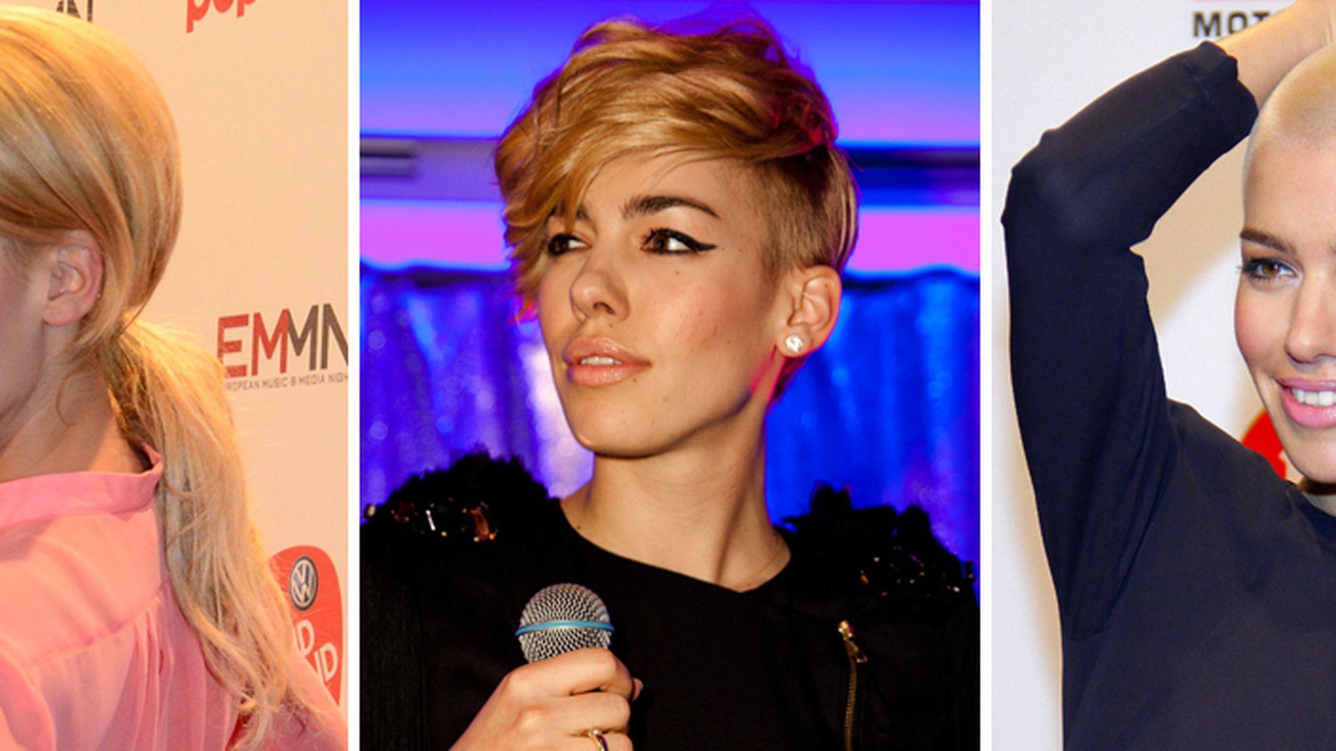 Frida Gold Alina Ihre Krasse Frisuren Entwicklung Promiflash De