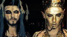 Erkannt Feierten Tom & Bill Kaulitz Halloween