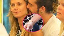 Wie Heidis T Auf Dem Arm Tom Kaulitz Trgt Ein -tattoo