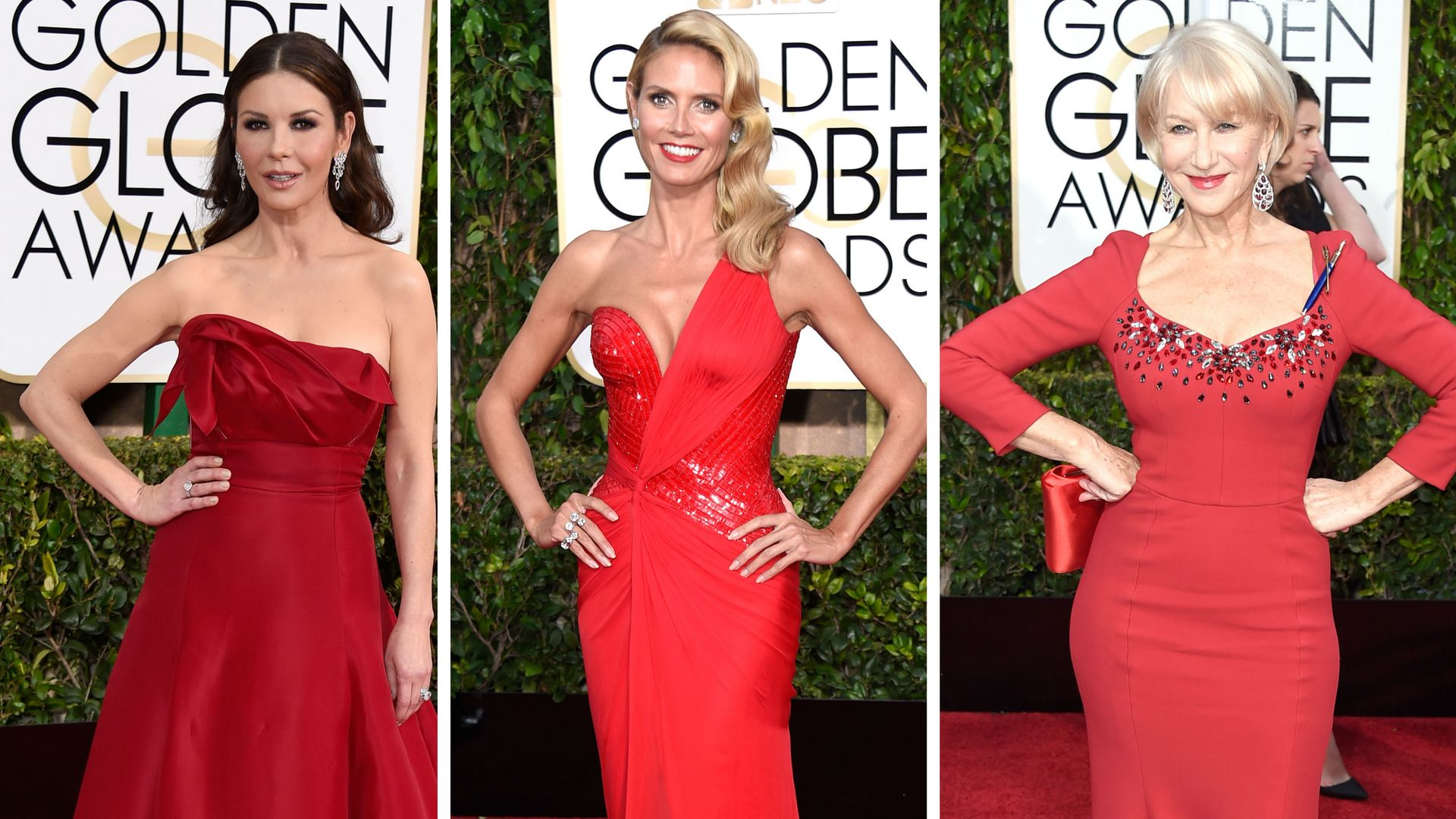Roter Teppich Golden Globes 2015 Golden Globe Hingucker Roter Teppich Rote Roben