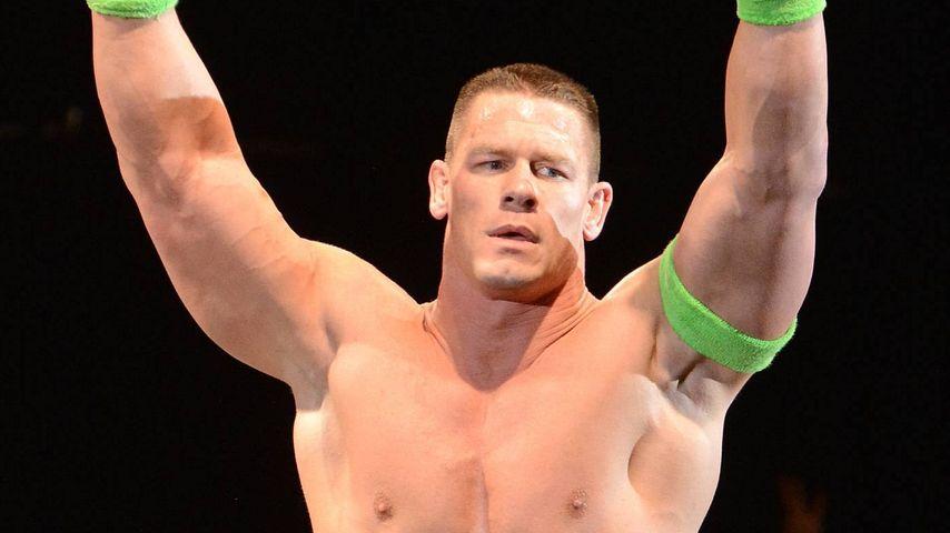 Echt WWEStar John Cena rasiert sich tglich 30  Min  Promiflashde