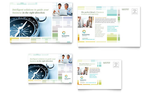 Professional Services Postcards Templates & Designs