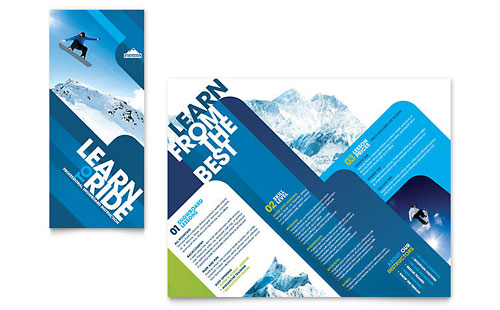 Ski Resort Graphic Designs & Templates