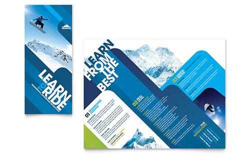 Ski Resort Graphic Designs & Templates