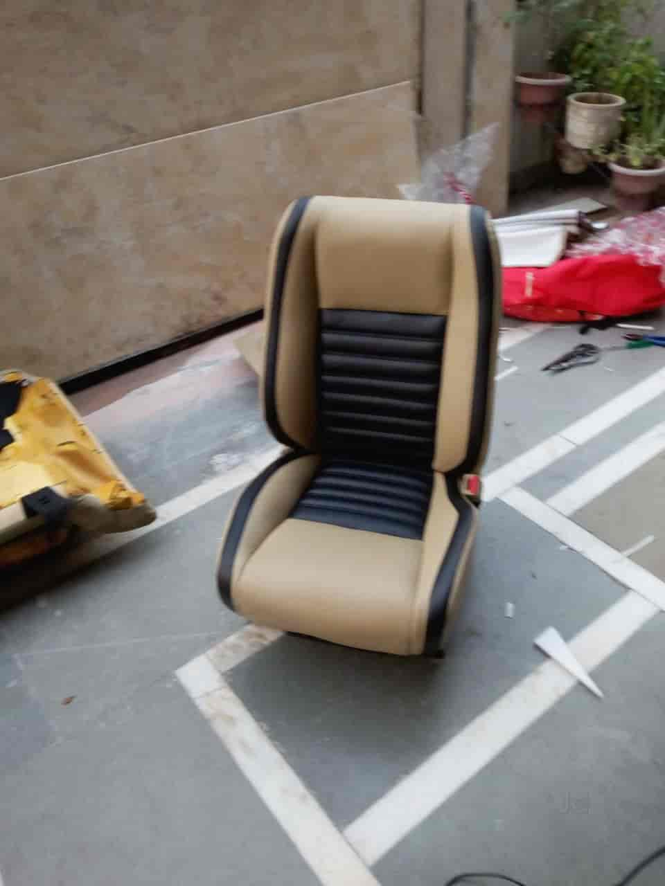 chair covers manufacturers in delhi fabric dining ligament car seat cover rani bagh