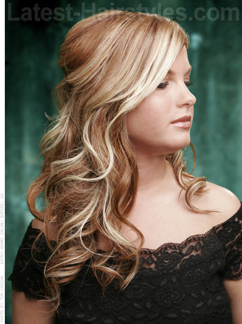 20 Gorgeous Formal Half Updos You'll Fall In Love With