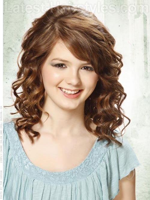 Low Maintenance Hairstyles For Girls With Curly Hair