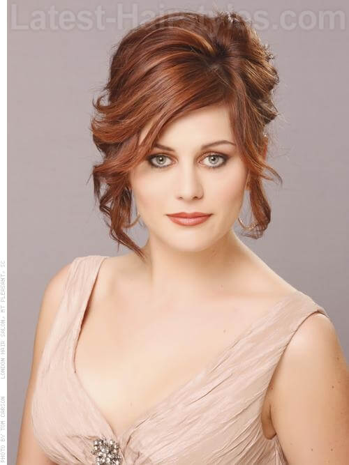 Prom Hairstyles For Medium Length Hair Pictures And How To's