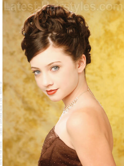 30 Cute Winter Updo Hairstyles Hairstyles Ideas Walk The Falls