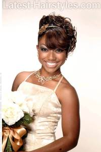 11 African American Wedding Hairstyles For The Bride & Her ...