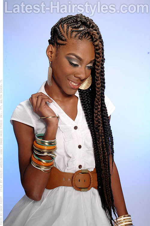 The 6 Best Summer Cornrow Hairstyles Ever Created