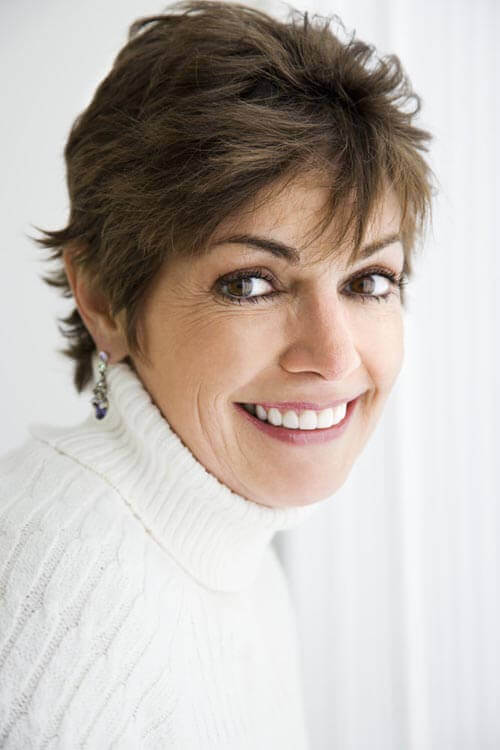 100 Chic Short Hairstyles For Women Over 50