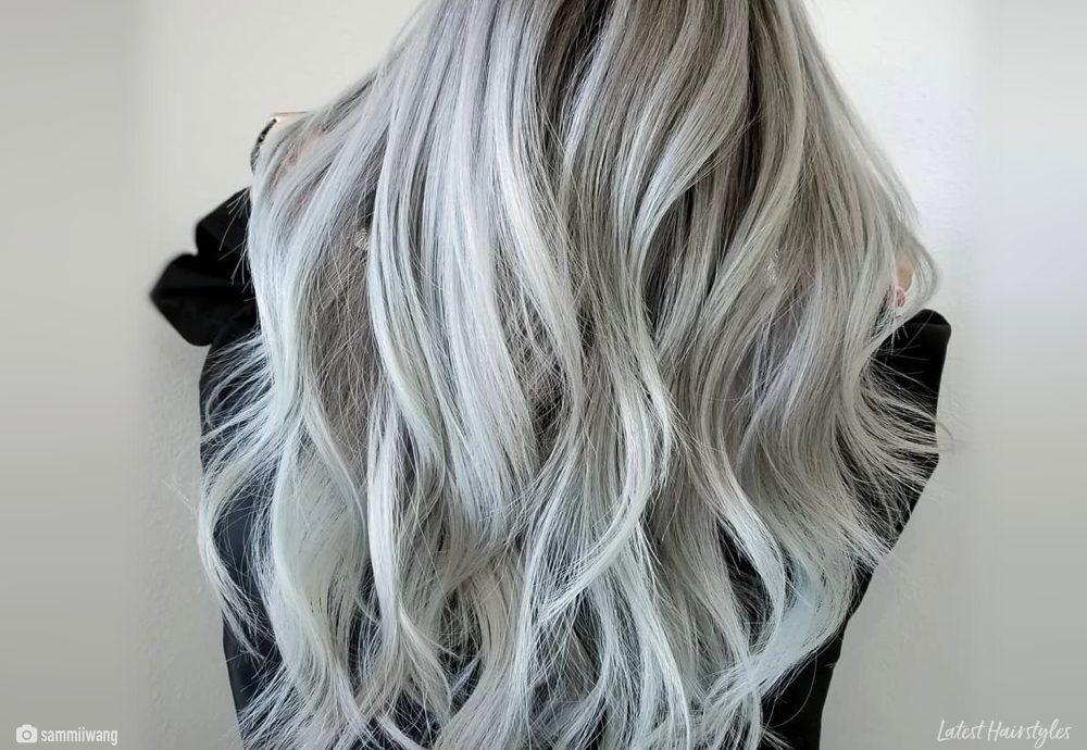 Brunette Balayage Ash Blonde 15 Best Ash Blonde Hair Colors Of 2019 Ombre Highlights