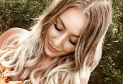 top blonde ombre hair color