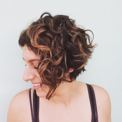 Short Haircuts For Naturally Curly Hair 2018 Hairstyles Beautiful