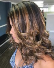delectable caramel highlights