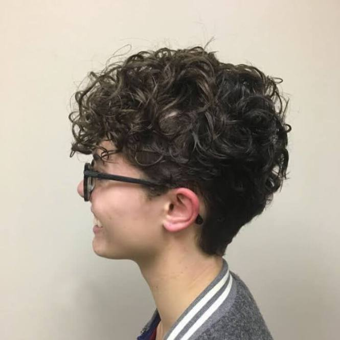 Cool Short Curly Men S Haircut Shape Up Bald Fade